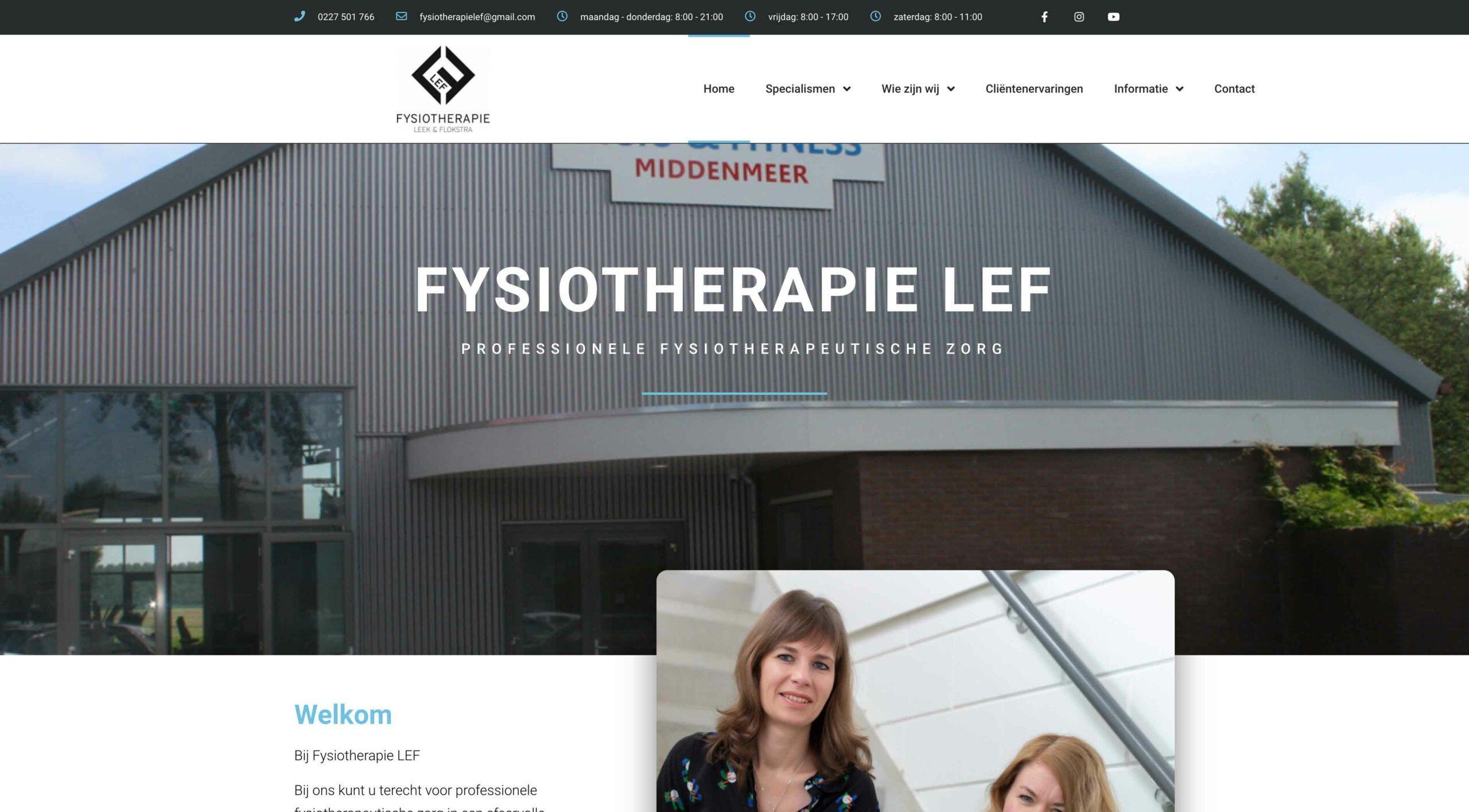 351 - Fysiotherapie LEF